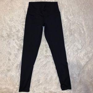 Black high waisted leggings